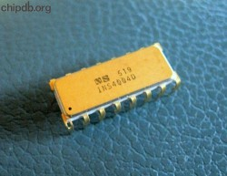 National Semiconductor INS4004D gold lid