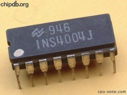 National Semiconductor INS4004J 7946