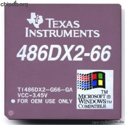 Texas Instruments TI486DX2-G66-GA