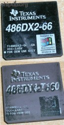 Texas Instruments TI486DX2-G66-GA black