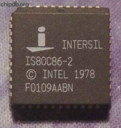 Intersil IS80C86-2