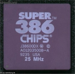Chips & Technologies J38600DX 25 MHz