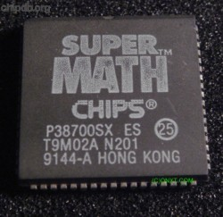 Chips & Technologies P38700SX 25 ES