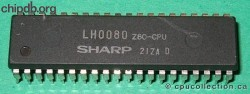Sharp LH0080 Z80-CPU