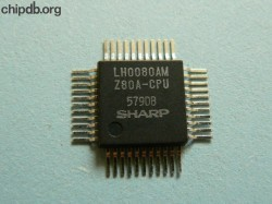 Sharp LH0080AM Z80A-CPU