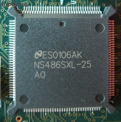 National Semiconductor NS486SXL-25