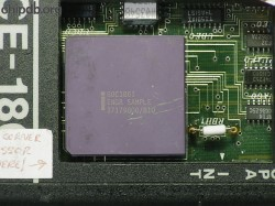 Intel 80C186I ENGR SAMPLE