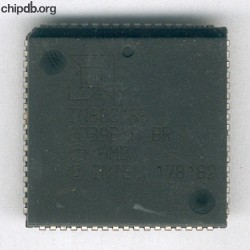 AMD IN80C188 engraved