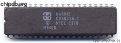 Harris CD80C86-2 no milspec