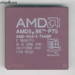AMD AMD-SSA 5-75ABR with N in corner