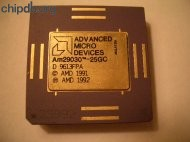 AMD Am29030-25GC diff print