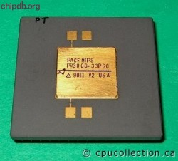 Performance Semiconductor PACEMIPS PR3000-33PGC